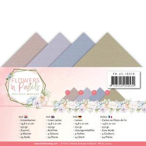 Linnenpakket - A5 - Precious Marieke - Flowers in Pastels PM-A5-10019