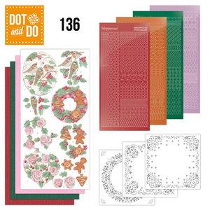 Dot and Do 136 - Christmas Florals DODO136