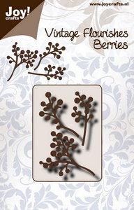 Joy! stencil 6003/0090 - stencil vintage flourishes besjes