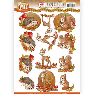 3D Push Out - Yvonne Creations - Fabulous Fall - Fabulous Animals SB10290