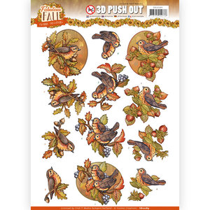 3D Push Out - Yvonne Creations - Fabulous Fall - Fall Birds SB10289