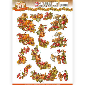 3D Push Out - Yvonne Creations - Fabulous Fall - Fall Bouquets SB10287