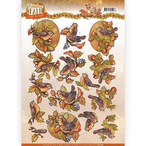 3D Knipvel - Yvonne Creations - Fabulous Fall - Fall Birds CD11156