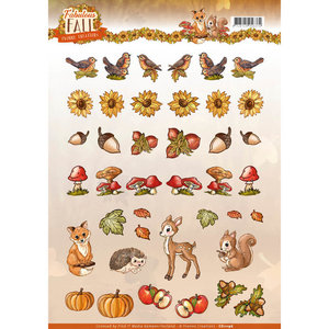 3D Knipvel - Yvonne Creations - Fabulous Fall - Mini CD11196
