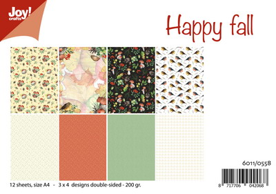 Joy! papierset Christmas 6011/0558