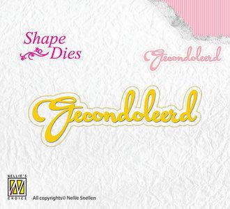 Nellies - Shape Dies - Gecondoleerd - SD101