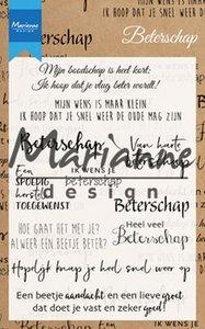 Marianne design, Clear stamp beterschap NL