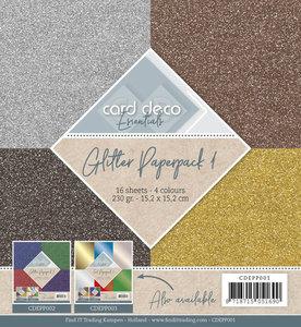 Glitter Paperpack 1 CDEPP001