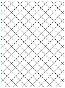 Embossing template 10,8x14,6cm wire fence.