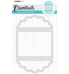 Studio Light - Embossing Die Cut Stencil - Essentials Nr.115 STENCILSL
