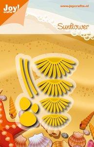 Joy! stencil madeliefje - sunflower 6002/0913