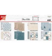 6011/0654 - Papierset - Design - Noor - Silver Bells